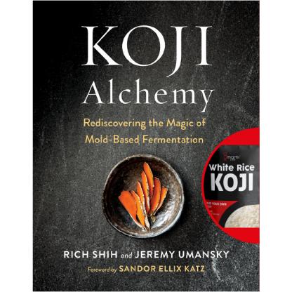 Koji Alchemy bundled with Umami Chef White RIce Koji