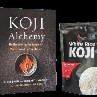 Koji alchemy book with Umami Chef Koji